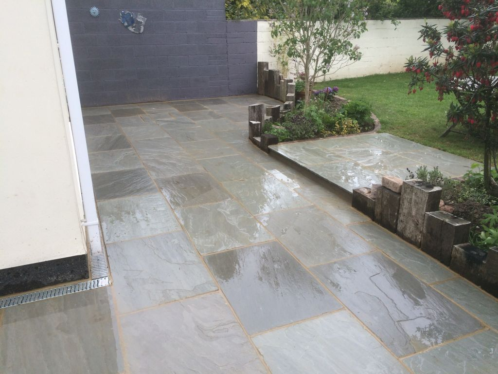 Undy using 900×600 kandla grey Indian sand stone-7