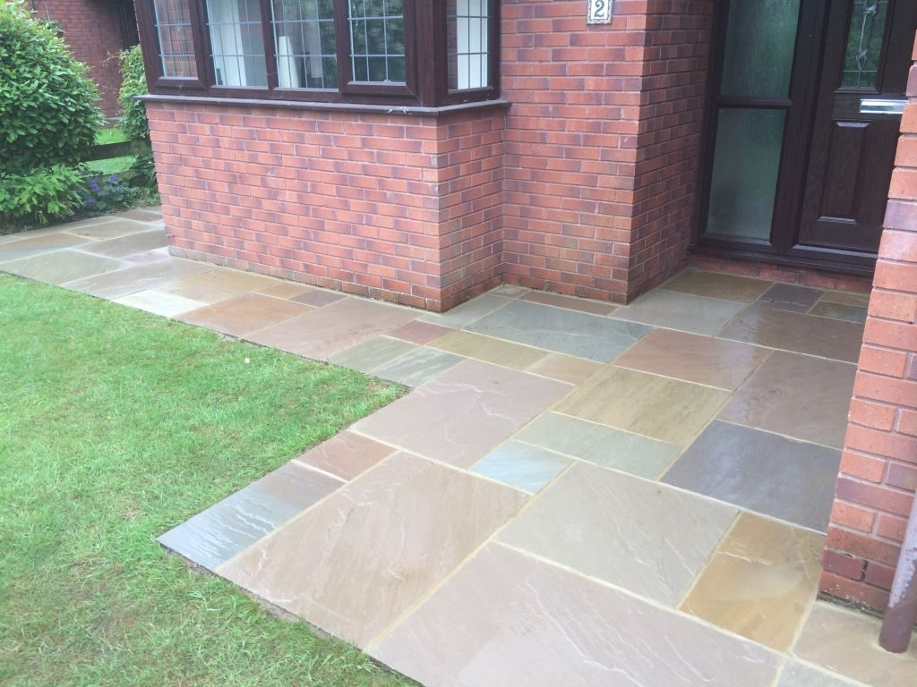 Undy Vinergar hill using raj green Indian sand stone with a