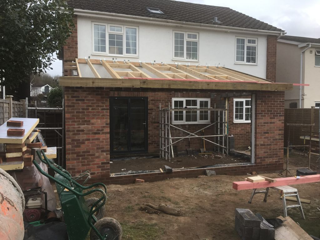 Magor single extension with  vaulted ceiling-1